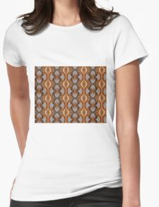 Golden Night Womens Fitted T-Shirt