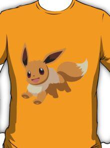 Evee Pokemon Simple No Borders T-Shirt