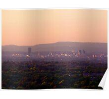 sundown for manchester Poster