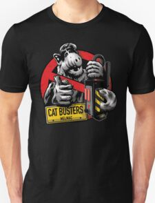Catbusters Extermination Service of Melmac T-Shirt