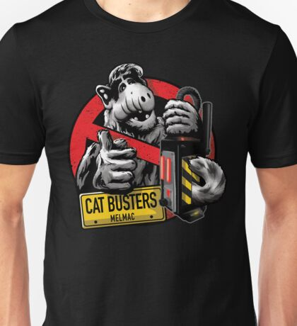Catbusters Extermination Service of Melmac Unisex T-Shirt