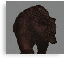 Lonely Bear Canvas Print