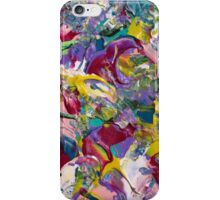 Abstract Floral Design  iPhone Case/Skin
