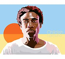 Gambino is a Mastermind Photographic Print