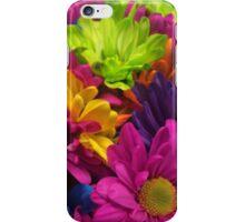 Vibrant Bright Neon Flowers iPhone Case/Skin