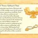 The Florence Nightingale Pledge by Packrat