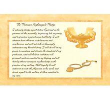 The Florence Nightingale Pledge Photographic Print