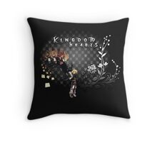 Kingdom Hearts - Roxas, Axel, Xion Throw Pillow
