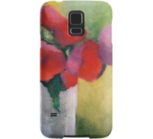 First Tulips Abstract Print Samsung Galaxy Case/Skin