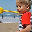 It's a sand ninja! by Trish Peach