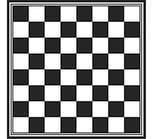 Chessboard Photographic Print