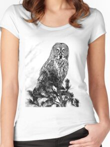 The guardian of the forest Women's Fitted Scoop T-Shirt