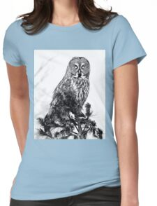 The guardian of the forest Womens Fitted T-Shirt