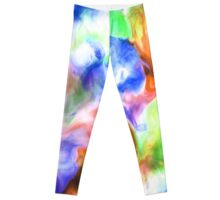 Smudge Paint Abstract #2 Leggings