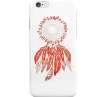 Red Dreamcatcher  iPhone Case/Skin