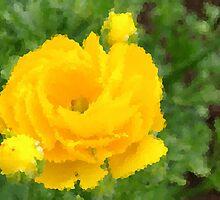 Crystalised Flower by Jurgen  Schulz