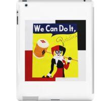 Harley Quinn as Rosie the Riveter iPad Case/Skin