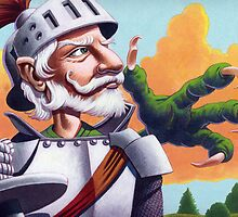 Don Quixote and the Dragon by Mike Cressy