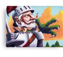 Don Quixote and the Dragon Canvas Print