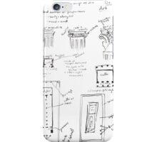 Ancient Greek Diagram iPhone Case/Skin