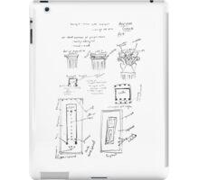 Ancient Greek Diagram iPad Case/Skin