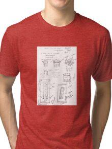Ancient Greek Diagram Tri-blend T-Shirt