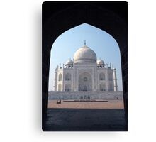 Taj Mahal, India Canvas Print