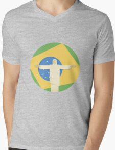 Christ the Redeemer Mens V-Neck T-Shirt