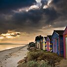 Beach Huts by Alistair Wilson