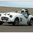 Triumph TR3 by Kurt Golgart