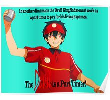 The Devil is a Part Timer! Sadao Maou Poster