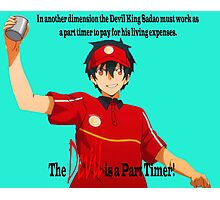 The Devil is a Part Timer! Sadao Maou Photographic Print