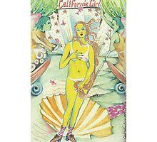 CAILFORNIA GIRL Photographic Print