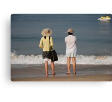 Goa beach, India Canvas Print
