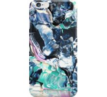 Sky Art, Blue and White Abstract Design  iPhone Case/Skin