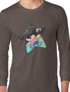 Steven and cookie cat Long Sleeve T-Shirt