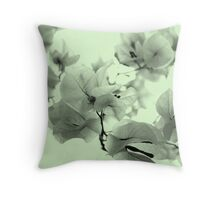 Everything is blooming most recklessly Throw Pillow