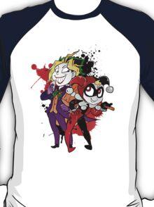 Yami Yugi andYugi as Joker and Harley Quinn  T-Shirt