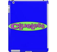 clueless logo  iPad Case/Skin