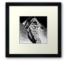 Replica (Black) Framed Print