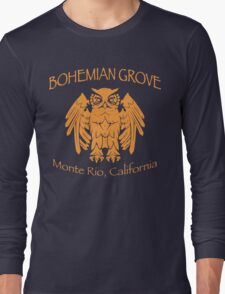 Bohemian Grove - Monte Rio, California Long Sleeve T-Shirt