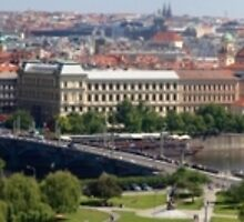 Prague Panorama cityscape by grorr76