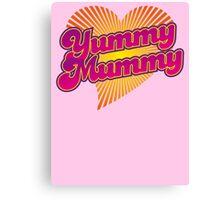 Yummy Mummy Canvas Print