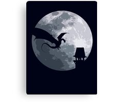 Smaug And The Tower Canvas Print