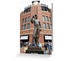 Coors Field Greeting Card