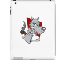 Leave me alone iPad Case/Skin