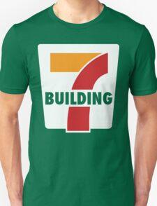 Building 7 Subversive '7 Eleven' Logo - Smoking Gun of 9/11 Unisex T-Shirt