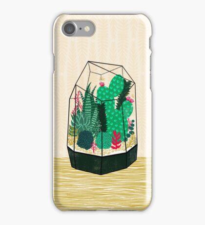 Terrarium - Geodesic Plant for Succulents and Cactus by Andrea Lauren iPhone Case/Skin