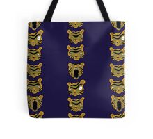 Tiger Buttons Tote Bag