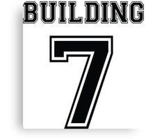 Building 7 - Controlled Demolition Canvas Print